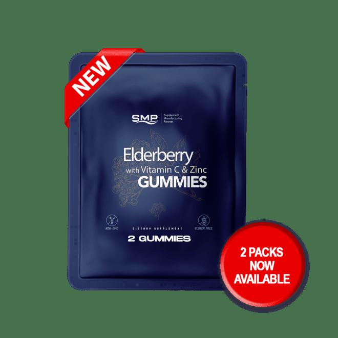 Elderberry w- Vitamin C & Zinc