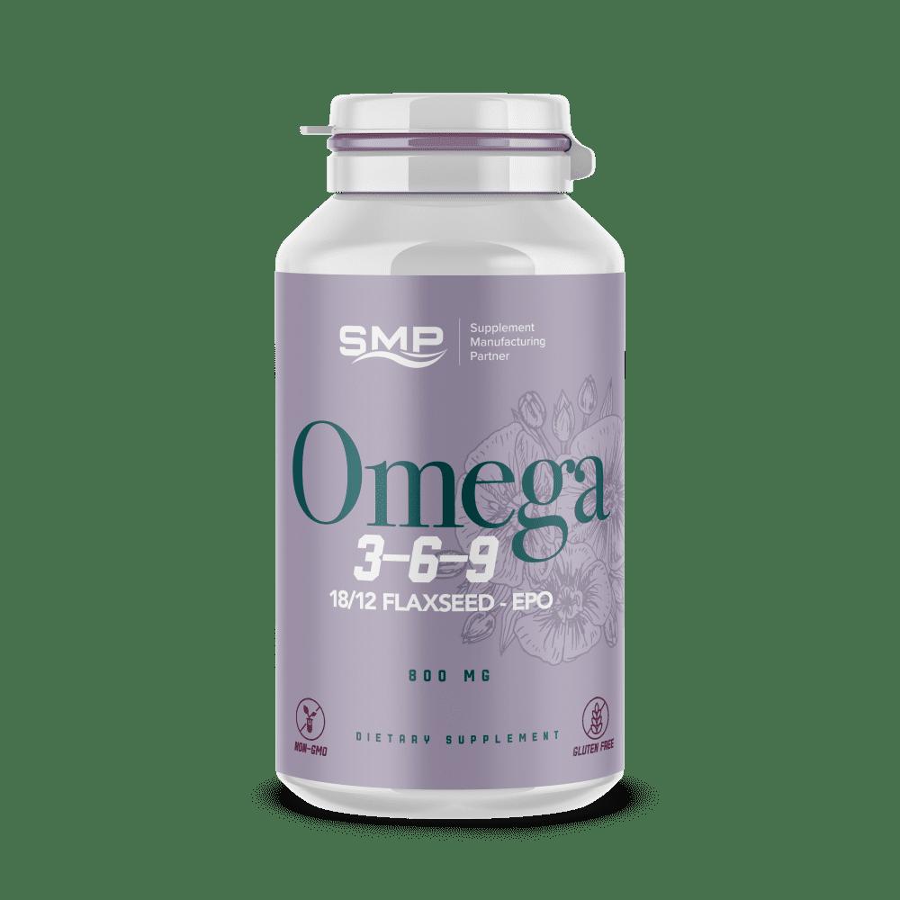 Private Label Omega 3-6-9 -18/12 Flaxseed - Non-GMO ...