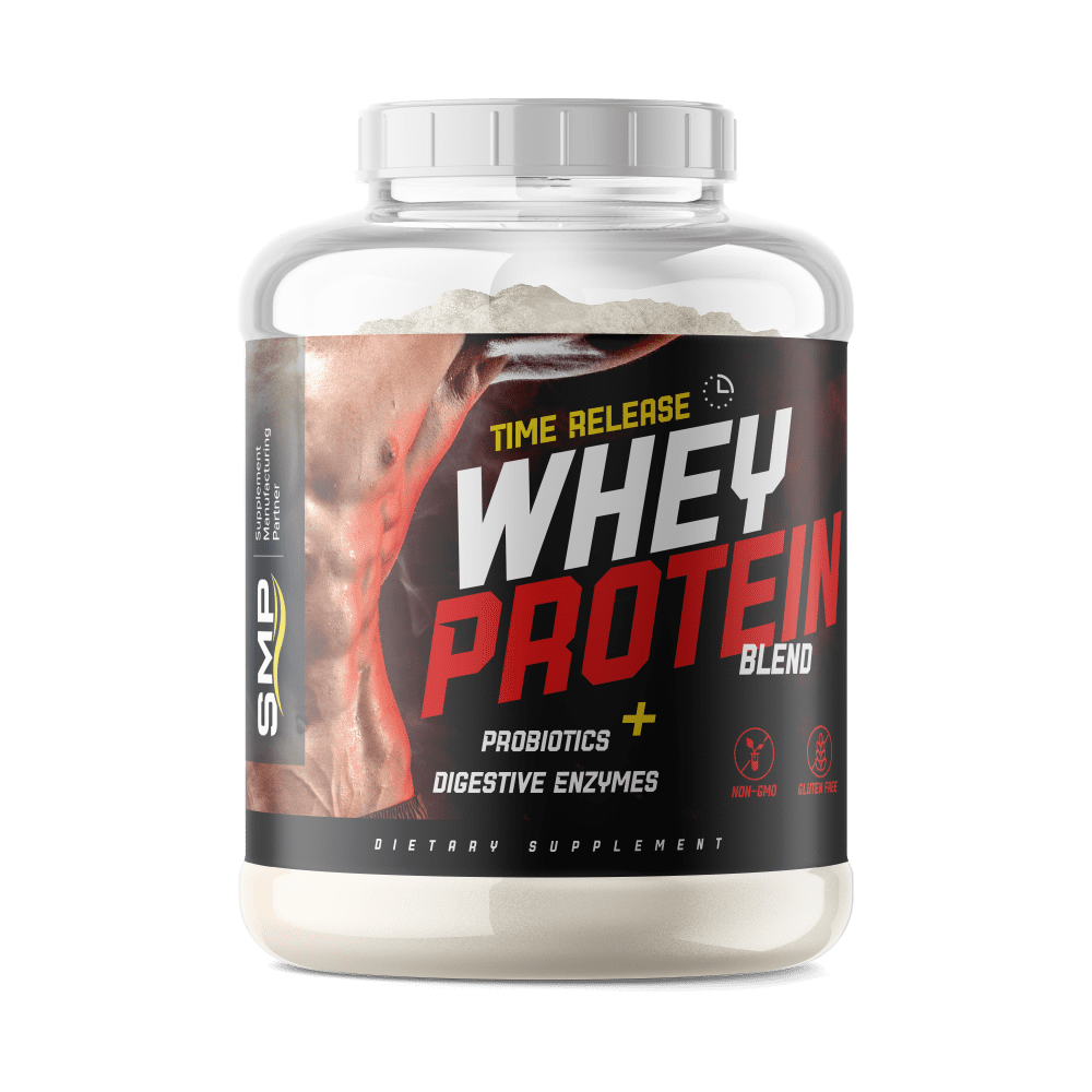 It is an image of Lucrative White Label Protein Powder