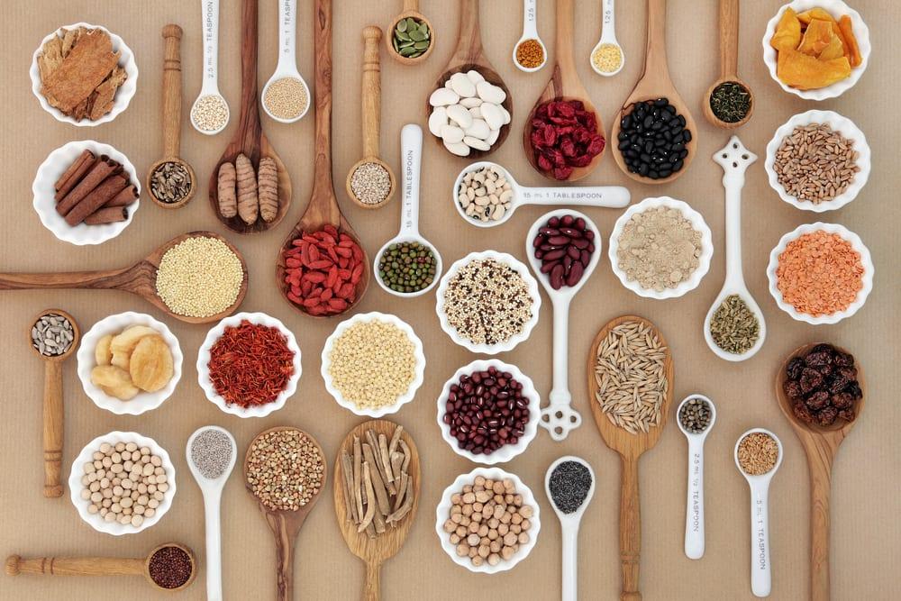 Assorted supplement ingredients