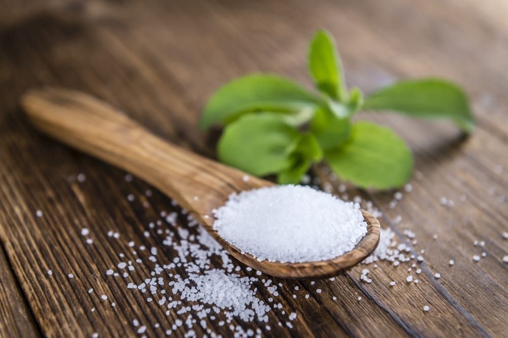 Stevia as a sugar replacement