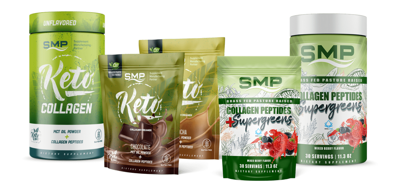 Supplement Manufacturing Partners Packaging Examples