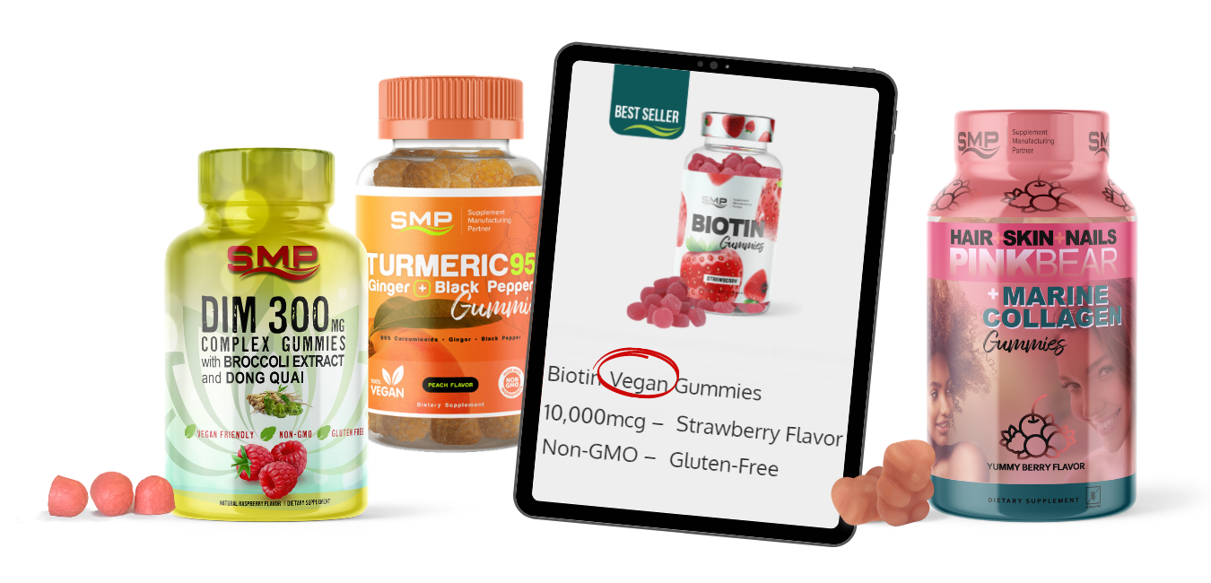 Vegan Products by SMP